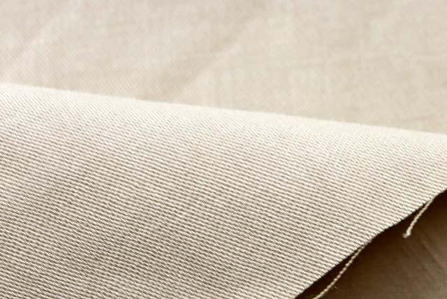ストレッチ麻紺服